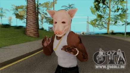 Das Schwein Maske für GTA San Andreas