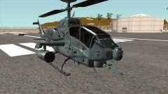 AH 1W Super Cobra Gunship