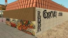 Graffiti dans le Quartier de Idlewood