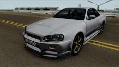 Nissan Skyline R34 0.1 pour GTA San Andreas