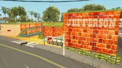 Jefferson Motel dans des couleurs vives et chaudes pour GTA San Andreas