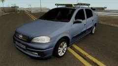 Opel Astra G 1999 Taxi pour GTA San Andreas