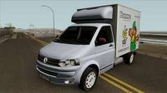 Volkswagen Transporter T5 Box pour GTA San Andreas