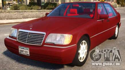 Mercedes-Benz S600L W140 pour GTA 4