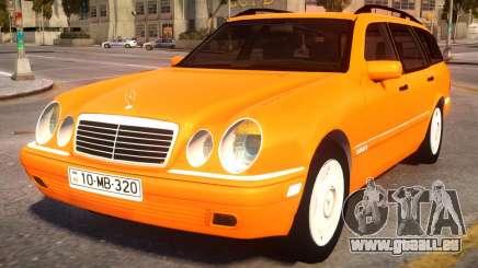 Mercedes-Benz W210 v2.0 pour GTA 4