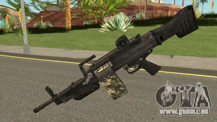 MG 4 from Warface pour GTA San Andreas