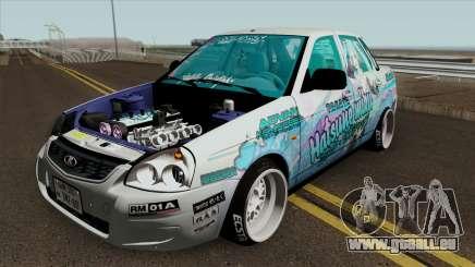 VAZ 2170 Priora (Japon Itasha la Dérive) pour GTA San Andreas