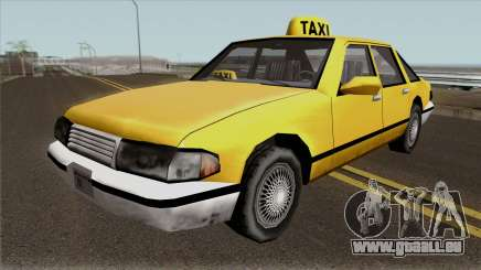 Echo Taxi Sa Style für GTA San Andreas