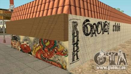 Graffiti dans le Quartier de Idlewood pour GTA San Andreas