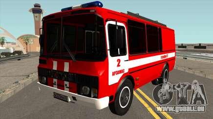 PAZ-3205 Protection contre l'Incendie pour GTA San Andreas