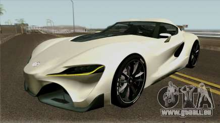 Toyota Supra FT-1 Concept 2014 pour GTA San Andreas