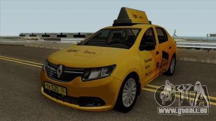 Renault Logan 2017 Yandex Taxi pour GTA San Andreas