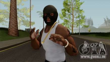 GTA V Balaclava For CJ pour GTA San Andreas