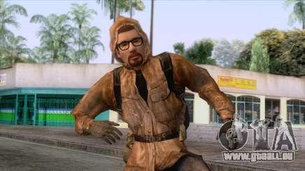 Freeman gekleidet wie ein Stalker für GTA San Andreas