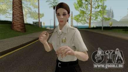 Polizei girl HD für GTA San Andreas