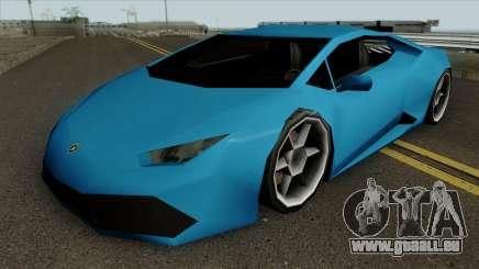 Lamborghini Huracan LQ pour GTA San Andreas