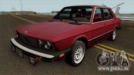 BMW 535i (e28) 1985 US-spec pour GTA San Andreas