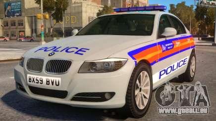 BMW M3 Series Saloon Area Car pour GTA 4