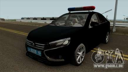 Lada Vesta Traffic Police v2 pour GTA San Andreas
