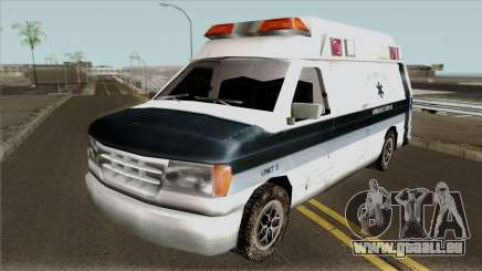 Carcer City Ambulance pour GTA San Andreas