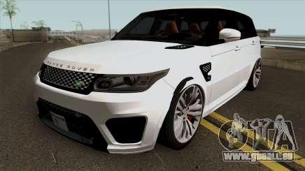 Land Rover Range Rover Sport SVR pour GTA San Andreas