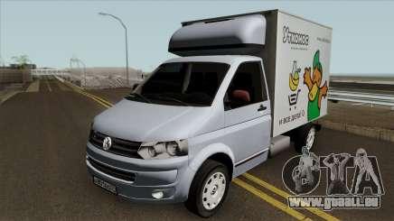 Volkswagen Transporter T5 Box für GTA San Andreas