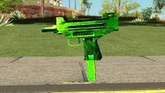 Retextured Uzi für GTA San Andreas