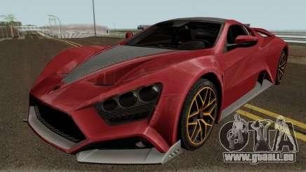 Zenvo ST1 GT 18 für GTA San Andreas