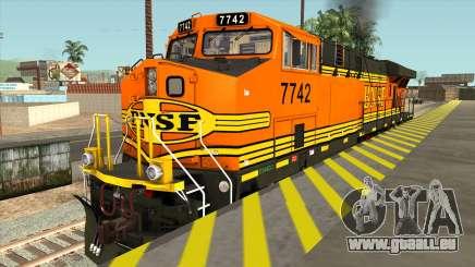 GE ES44DC - BNSF Locomotive für GTA San Andreas