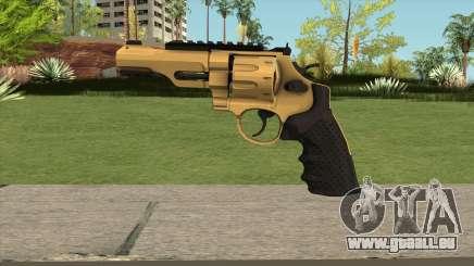 Revolver R8 Gold pour GTA San Andreas