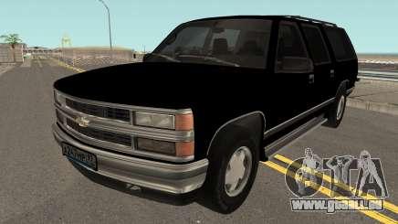 Chevrolet Suburban GMT400 1998 FBI pour GTA San Andreas