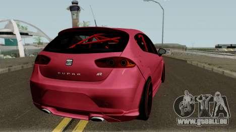 Seat Leon Cupra R für GTA San Andreas rechten Ansicht