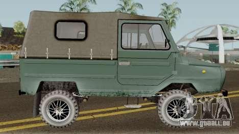 LuAZ-969М v3 für GTA San Andreas Rückansicht