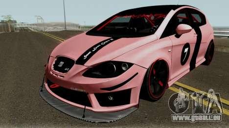 Seat Leon Cupra R für GTA San Andreas Seitenansicht