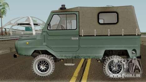 LuAZ-969М v3 für GTA San Andreas linke Ansicht