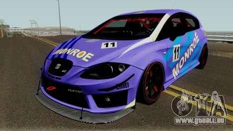 Seat Leon Cupra R für GTA San Andreas Innen