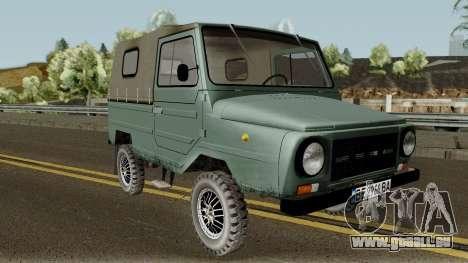 LuAZ-969М v3 für GTA San Andreas Innenansicht