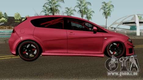 Seat Leon Cupra R für GTA San Andreas Rückansicht