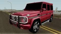 Mercedes-Benz G55 AMG HQ pour GTA San Andreas