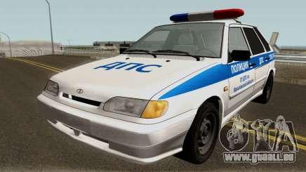 VAZ 2114 Police de la Région de Yaroslavl pour GTA San Andreas