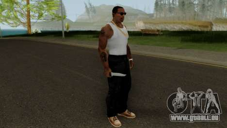 Knife HQ (With HD Original Icon) pour GTA San Andreas