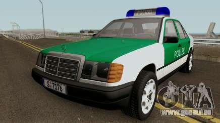 Mercedes-Benz E-Klasse W124 1993 Police pour GTA San Andreas