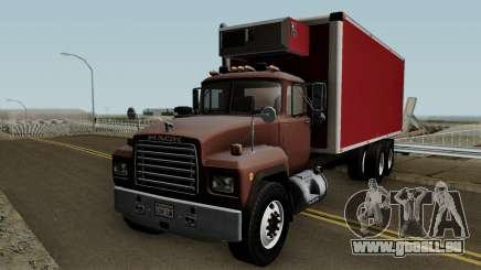 Mack RD690 Box Truck pour GTA San Andreas