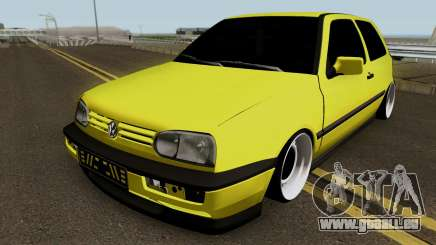 Volkswagen Golf 3 Stanced v2 pour GTA San Andreas