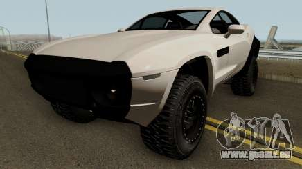 Local Motors Rally Fighter HQ pour GTA San Andreas