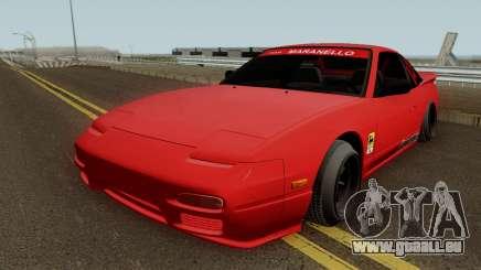 Nissan 180sx Autongraphic 1996 pour GTA San Andreas