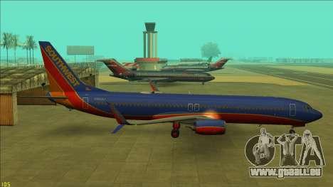 Southwest Airlines 737-800 pour GTA San Andreas