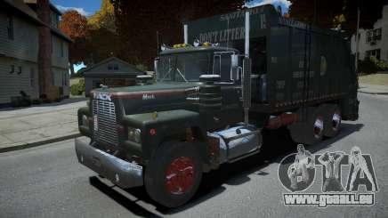 Mack R-600 Trashmaster für GTA 4