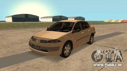 Renault Megane II Sedan 2004 v2.1 pour GTA San Andreas