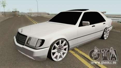 Mercedes-Benz (S-Class) W140 pour GTA San Andreas